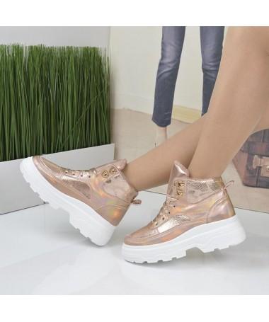 Pantofi Sport De Dama Sadar Aurii - Trendmall.ro